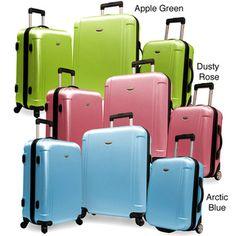 Traveler's Choice Freedom 3-piece Hardside Spinner Luggage Set | Overstock.com