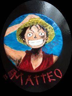 Luffy One piece cake