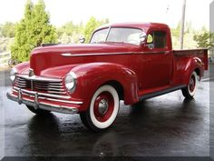 1946 nash pick up | 1946 Hudson Pickup Truck Red, for sale in ...