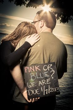 Pregnancy Announcement Pic.  www.derosaphotography.com