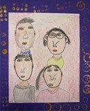 Artsonia Art Exhibit :: Kindergarten Family Portraits