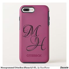 Monogrammed OtterBox iPhone 8/7 Plus Symmetry Case