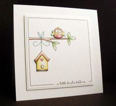 A little birdie...Digi Stamp Boutique