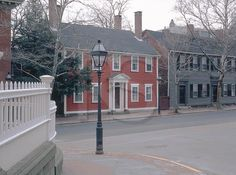 historic homes on Benefit Street, Providence