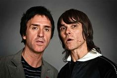 Johnny Marr e Ian Brown