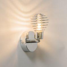 Strahler Twist 1 Chrom #Angebote #Sale #Ausverkauf #Außenbeleuchtung #Innenbeleuchtung #lampen #Leuchte #Light #wohnen #einrichten #Outlet