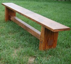 Dad Built This: Farmhouse Bench