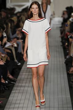 ALL ABOUT STRIPES- SPRING 2013 NYFW- PART 2   Mark D. Sikes: Tommy Hilfinger
