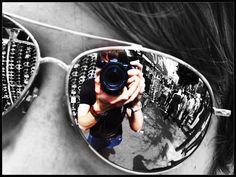 Camera & Sunglasses Reflection.