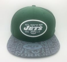 NEW YORK JETS NFL NEW ERA 59 FIFTY FITTED HAT/CAP (SIZE 7 5/8) -- NEW #NEWERA59FIFTY #NewYorkJets