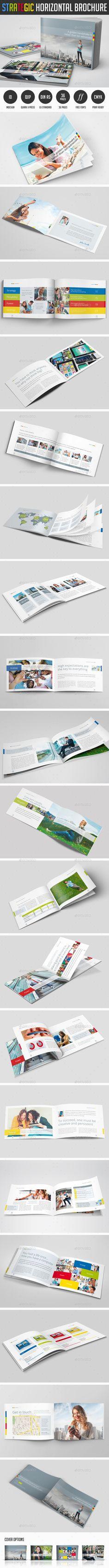 Bifold Brochure Bundle Volume Brochures Brochure Template - Horizontal brochure template
