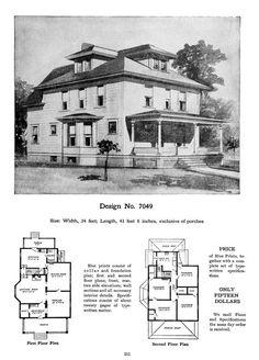 Foursquare style homes classic grand rapids mi for Craftsman bungalow house plans 1930s