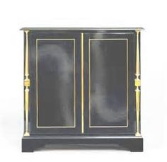 andre arbus black lacquer and bronze cabinet andre arbus was famous ...