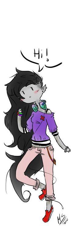 A 'Hi' from Marceline The Vampire Queen