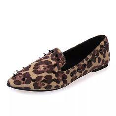 $15.46 (Buy here: https://alitems.com/g/1e8d114494ebda23ff8b16525dc3e8/?i=5&ulp=https%3A%2F%2Fwww.aliexpress.com%2Fitem%2F2016-New-Rivet-Women-Ladies-Girl-Flock-Shoes-Leopard-Women-Flat-Shoes-Peas-Cause-Party-Dress%2F32620133180.html ) 2016 New Rivet Women Ladies Girl Flock Shoes Leopard Women Flat Shoes Peas Cause Party Dress Shoes Hot Sale Best Gift(PDX049-19) for just $15.46