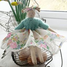 My Easter sweetheart. Hand-made by Penelope (£25)
