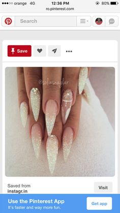 perfect stiletto nails
