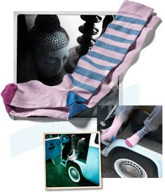 Oybo 'Aria' untuned socks: 1 pair, 2 different socks. Designed and manufactured in Italy, these high quality socks are silently elegant and funny.