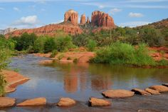 sedona pictures red rocks | Red Rock Crossing Crescent Moon Recreation Area in #Sedona, Arizona ...