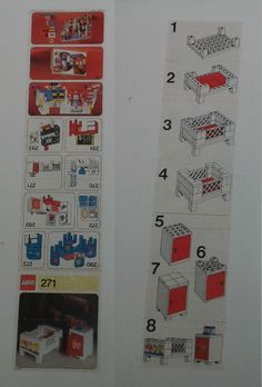 BrickLink - Instruction 271-1 : Lego Baby's Cot and Cabinet [Homemaker] - BrickLink Reference Catalog
