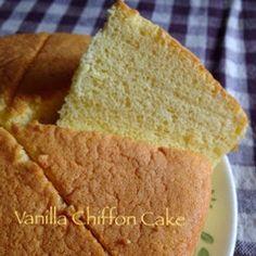My Mind Patch: Vanilla Chiffon Cake