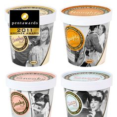 Ice Cream with Attitude! Love it #award winning #packaging PD