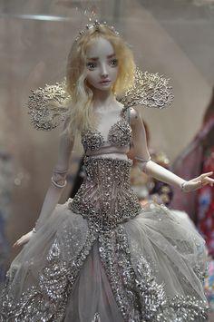 Enchanted doll by Marina Bychkova Bjd Dolls, Doll Toys, Fairy Dolls, Barbie Dolls, Marina Bychkova, Enchanted Doll, Dream Doll, Polymer Clay Dolls, Monster High Dolls