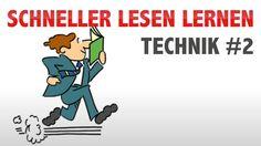 Schnell lesen Technik: In 5 Min. Lesegeschwindigkeit verdoppeln - Teil 2