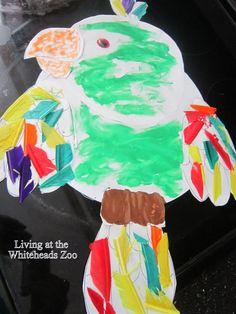 Parrot Kids Craft