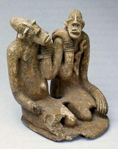 Mali - Djenne Civilization Seated Couple | Flickr - Photo Sharing!
