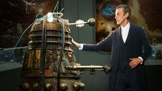 The Doctor and his patient: a Dalek - from Doctor Who: Into the Dalek