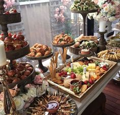 Display of the starter table Appetizer table display Display of the starter table Appetizer Table Display, Appetizers Table, Wedding Appetizers, Catering Display, Appetizer Recipes, Catering Food, Food Display Tables, Wedding Appetizer Buffet, Food Tables