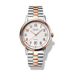 Tiffany & Co. Tiffany CT60® Bicolor 3-hand 40mm watch