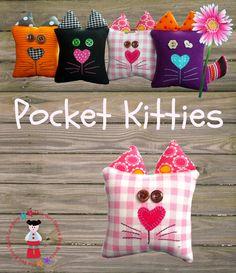 PDF - Pocket Kitties. $3,00, via Etsy.