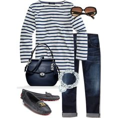 """""""In the navy"""" by kitsmommy on Polyvore"""