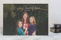 Let Joy Overflow by Frooted Design at minted.com