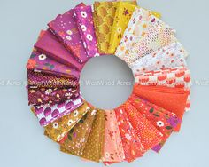 Enchanted Fat Quarter Bundle.  Love the strong saturated colors