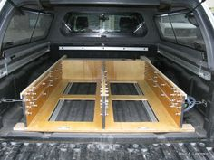 LATEST PROJECT - Truck Drawers/Sleeping Platform | Expedition Portal