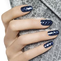 snake it up by essie - go with your fashion instincts and mix it up with this magnetic pewter pave python nail lacquer.