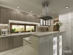 ID: 4038 Krupina 2014 - Jedálne a kuchyne Interior Design Kitchen, Modern Interior, Layout, Marble Floor, Weathered Wood, Kitchen Living, House Design, Flooring, Cabinets
