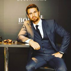 As we had previously announced, Theo James made an appearance today at the Oxford Street Debenhams in London, England. This was an event to promote the launch of Hugo Boss The Scent at that retailer… Theo James, Theodore James, James 3, Don Draper, Joseph Morgan, Robert Downey Jr, Sanditon 2019, Boss The Scent, New James Bond