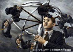 早逝的日本超寫實憂鬱派畫家:石田徹也 - 圖片31