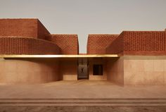 Yves Saint Laurent Museum Marrakech / Studio KO Completed in 2017 in Marrakesh, Morocco. Images by Dan Glasser. Dedicated to the work of the legendary French fashion designer, the Musée Yves Saint Laurent Marrakech (mYSLm) opened its doors in autumn It. Steven Holl, Cultural Architecture, Vernacular Architecture, Architecture Design, Pavilion Architecture, Islamic Architecture, Architecture Portfolio, Facade Design, Concept Architecture