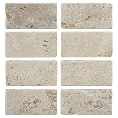 Jeffrey Court Light Travertine 3 In X 6 Wall Tile 8 Pack