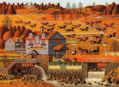 The Foxy Fox Outfoxes the Fox Hunters, Charles Wysocki
