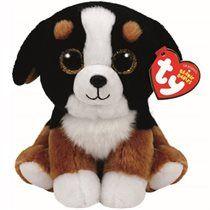 TY - Roscoe the Black/White Dog (Medium)