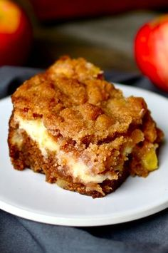 Yammie's Noshery: Cream Cheese Apple Coffee Cake
