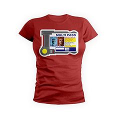 GetShirtz The Multipass Fifth Element TShirt Medium Red ** More info could be found at the image url. (This is an affiliate link)