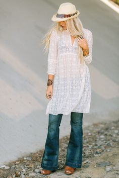 online retailer e262b 2e98b Bohemian Dresses, Floral Maxis + Feminine Style Tunics
