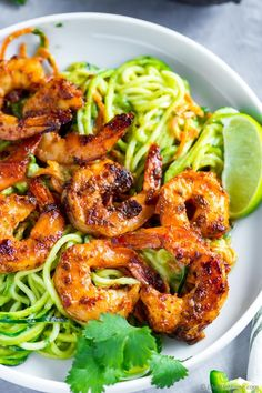 Glazed Chipotle Shrimp ready in just 6 minutes